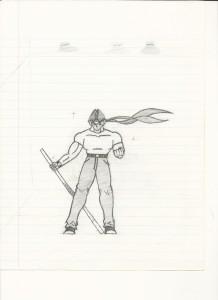 Original Skraith character