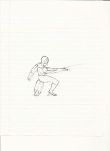 Spidey sketch #2