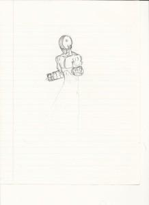 Unfinished Iori sketch.